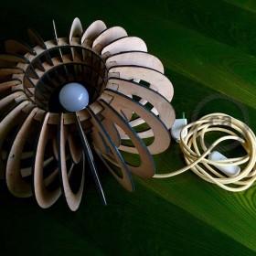 Be Creative - Las lamparas en madera de Alessandra Botto