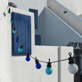 """""""La Guinguette"""": guirnaldas luminosas de exterior listas para usar"""