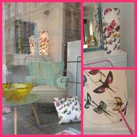 Florence Moulins: Lampara en tejido