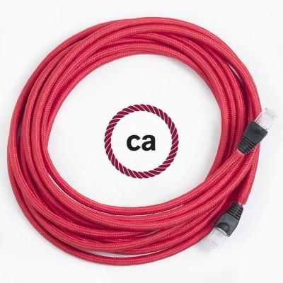 Una exclusiva Creative - Cables: el cable LAN-Ethernet recubierto en tejido!