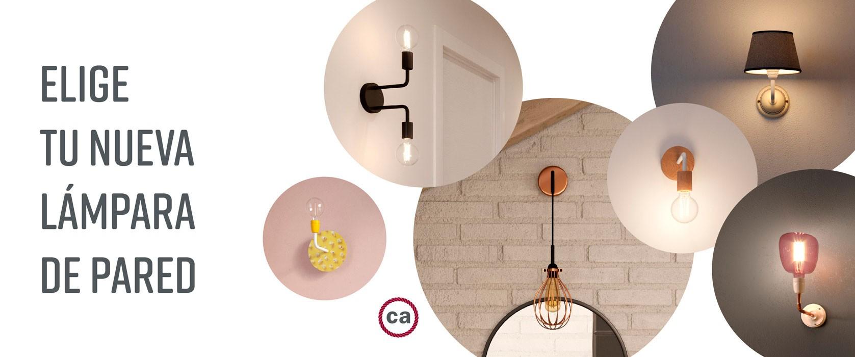 Lámparas de pared o techo